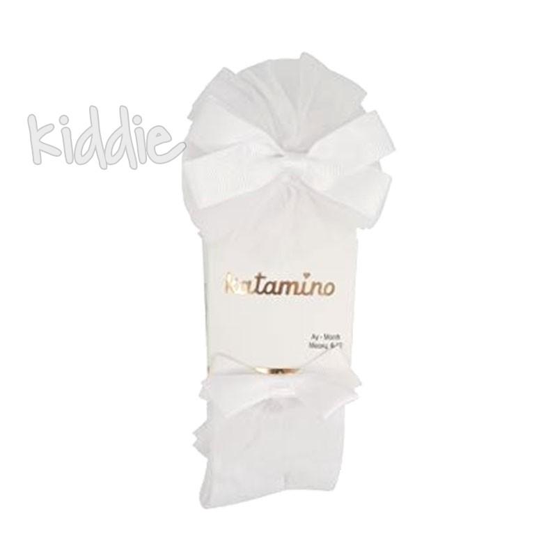 Бебешки памучни чорапогащи Katamino