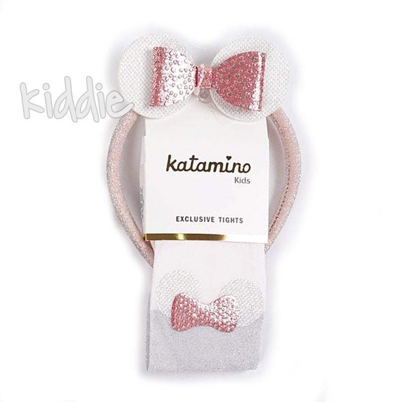 Детски чорапогащи Katamino с диадема