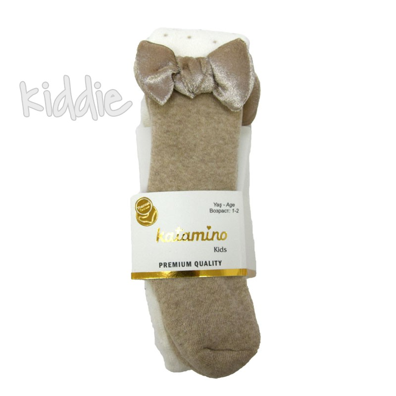 Детски термо чорапогащи Katamino за момиче