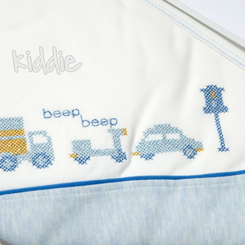 Бебешки комплект 10 части за изписване Bebelina за момче