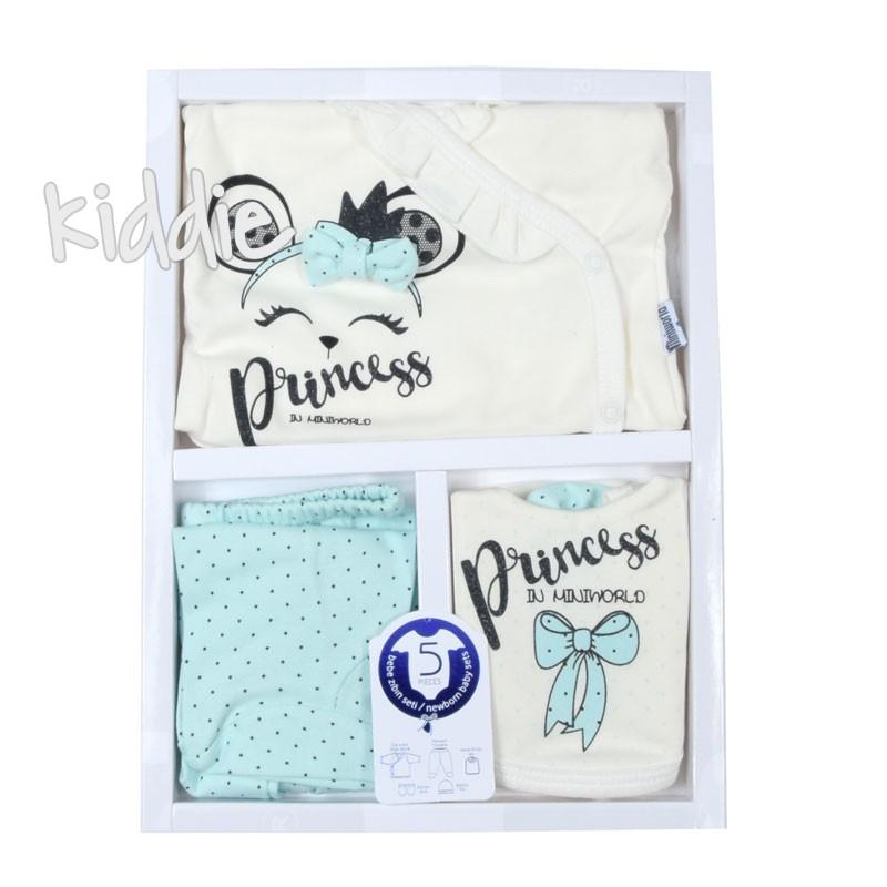 Комплект 5 части за момиче Princess, Miniworld