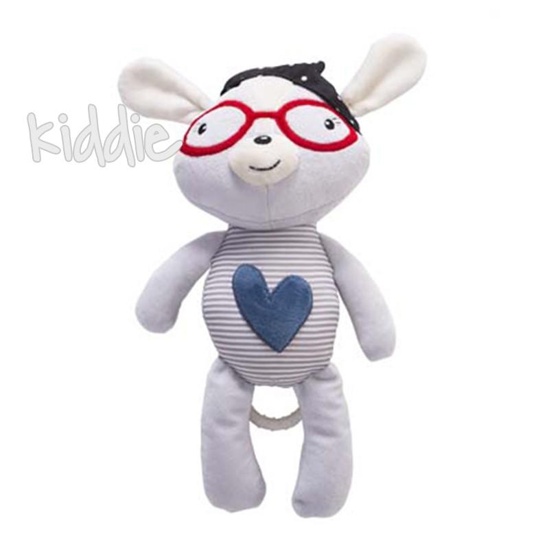Kikka Boo Играчка за легло, Blue Heart LOVE ROME