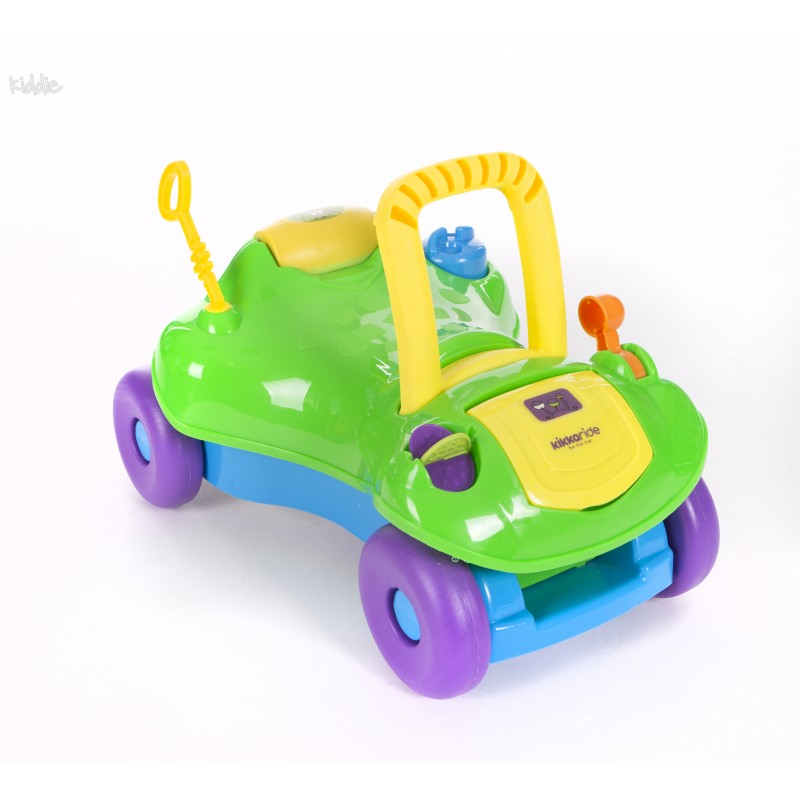Количка за яздене Kikka Boo Ride-on 2 in 1 Green