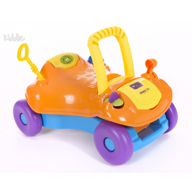 Количка за яздене Kikka Boo Ride-on 2 in 1 Orange