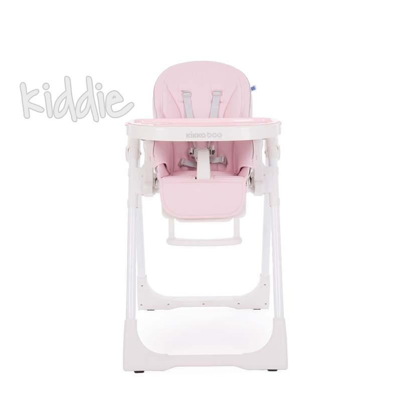 Kikkaboo Бебешки стол за хранене Pastello Pink