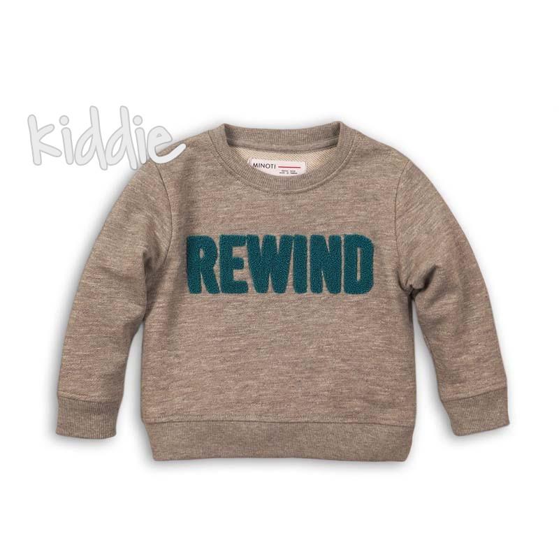 Детска блуза Minoti за момче Rewind