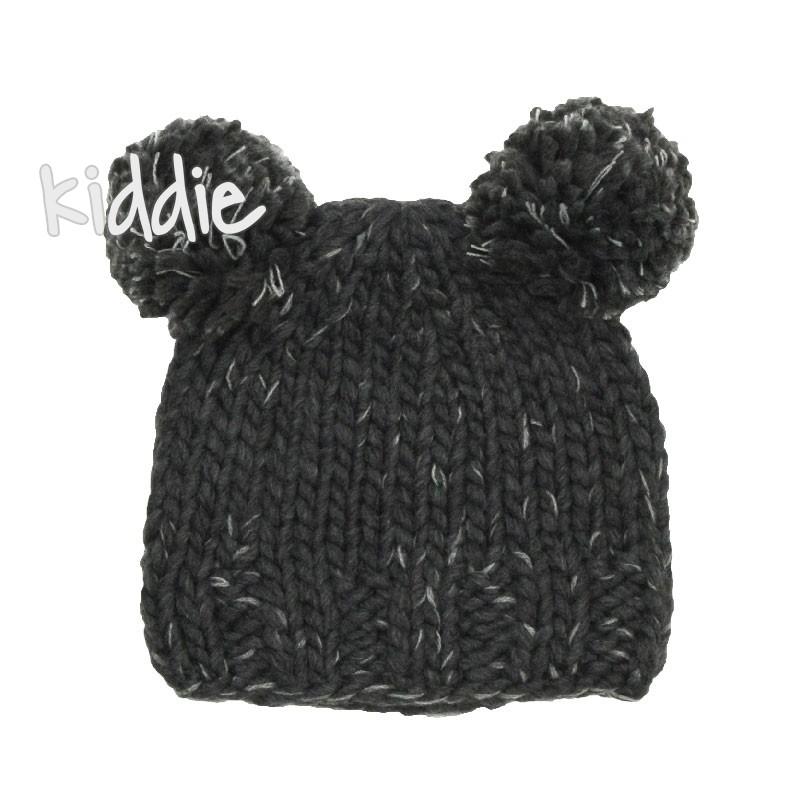 Бебешка плетена шапка Minoti лек меланж за момче