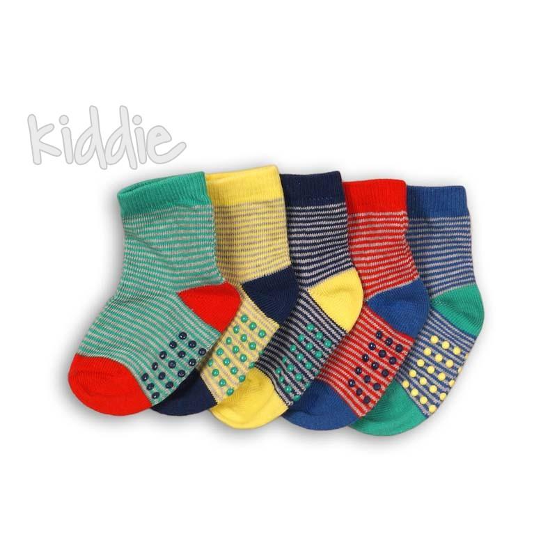 Бебешки комплект Minoti от 5 чифта чорапи