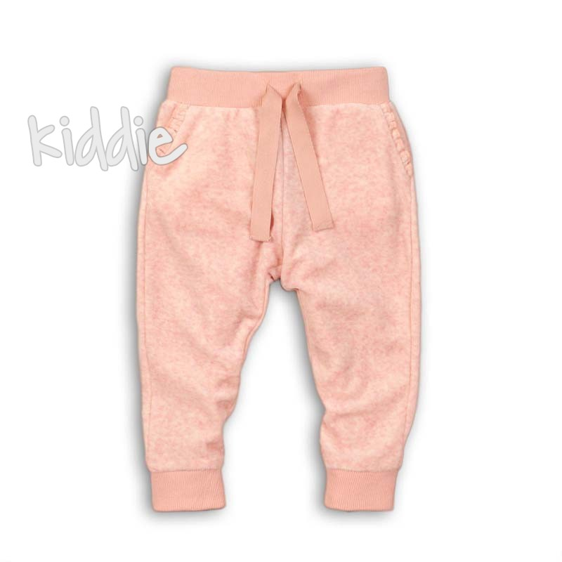 Детски плюшен спортен панталон Minoti за момиче