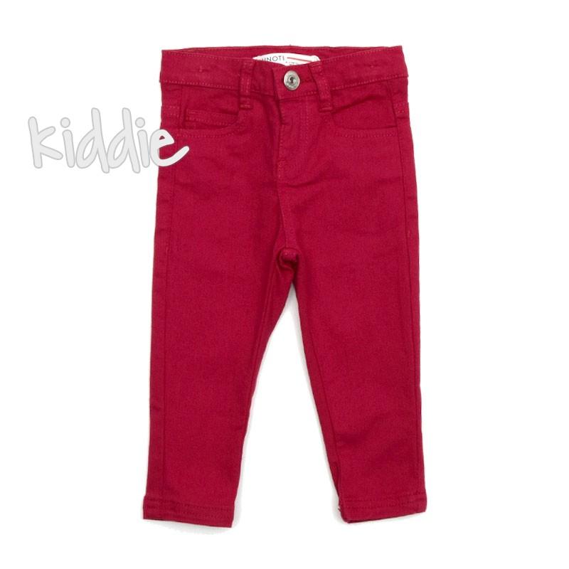 Бебешки панталон Minoti за момиче