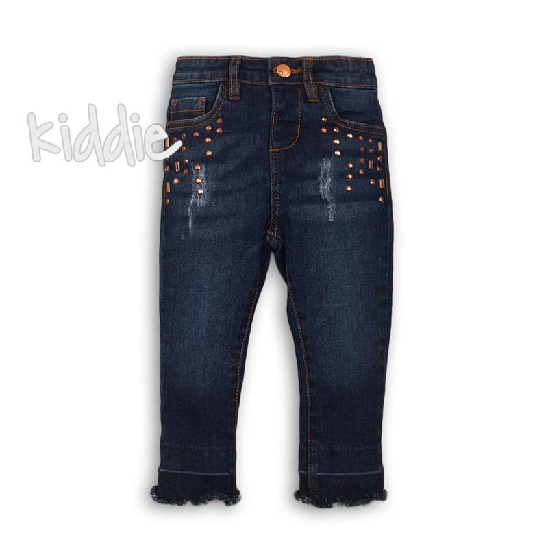 Детски дънков панталон Minoti за момиче