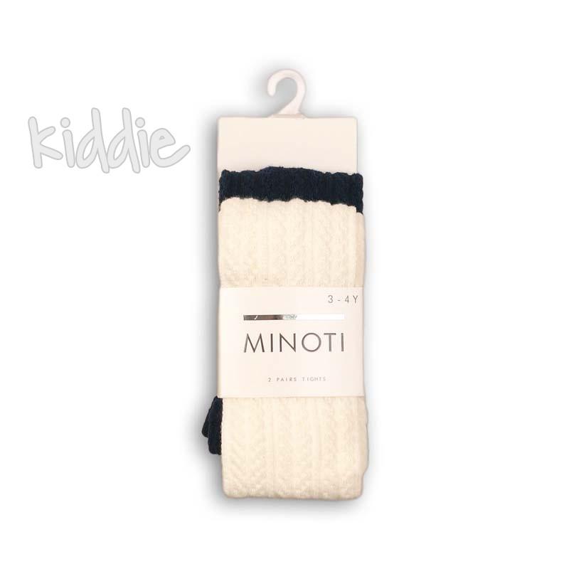 Бебешки комплект Minoti от 2 чифта чорапогащи