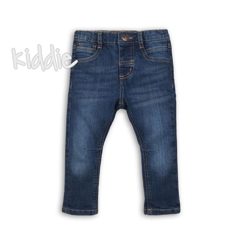 Бебешки дънки Minoti за момче с избелен ефект