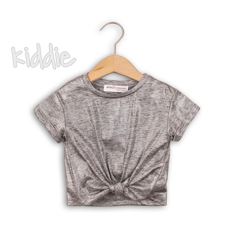 Детска ефектна тениска Minoti за момиче