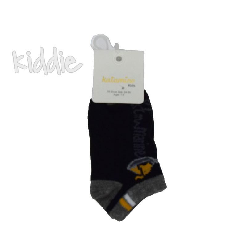 Детски къси чорапи Katamino за момче с лодка