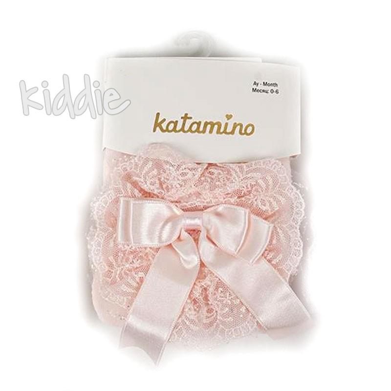 Бебешки чорапогащи Katamino за момиче