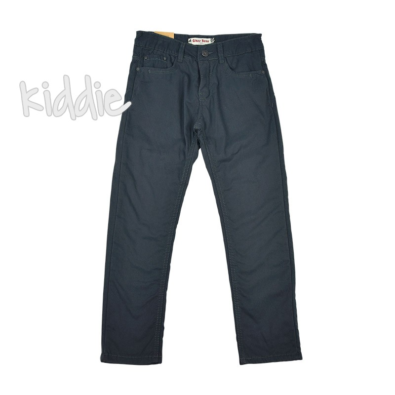 Детски панталон с хастар полар за момче