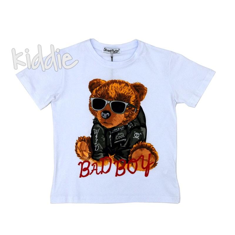 Детска тениска Street parter Bad Boy за момче